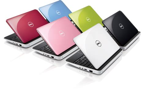 color laptop dell refreshes mini 10 for 2010 skatter