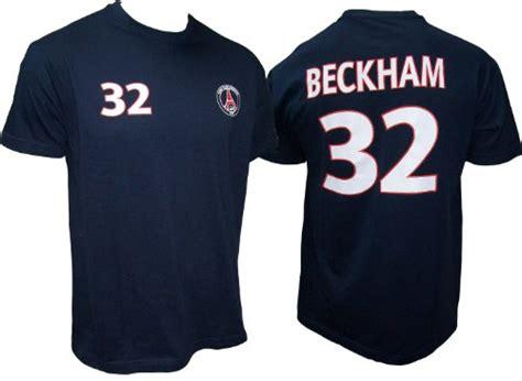 t shirt psg david beckham n 176 32 boutique david beckham
