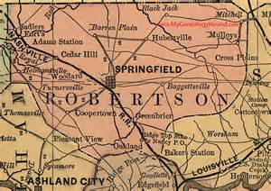 robertson county tennessee 1888 map