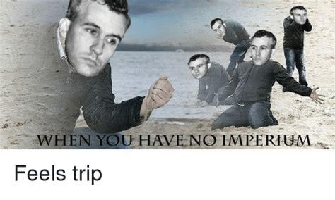 Feel Trip Meme - when you have no hmperhum feels trip paneuropean meme on