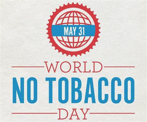 day no 31 may world no tobacco day cover picture