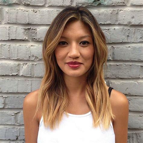 hair highlight for asian best 25 asian highlights ideas on pinterest asian