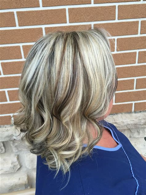 painting lowlights on gray hair 1000 ideas about cool blonde highlights on pinterest