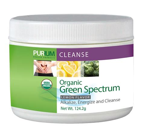 Spectrum Detox Westborough Reviews by Purium Green Spectrum Lemon 60 Serving Harvey Slater