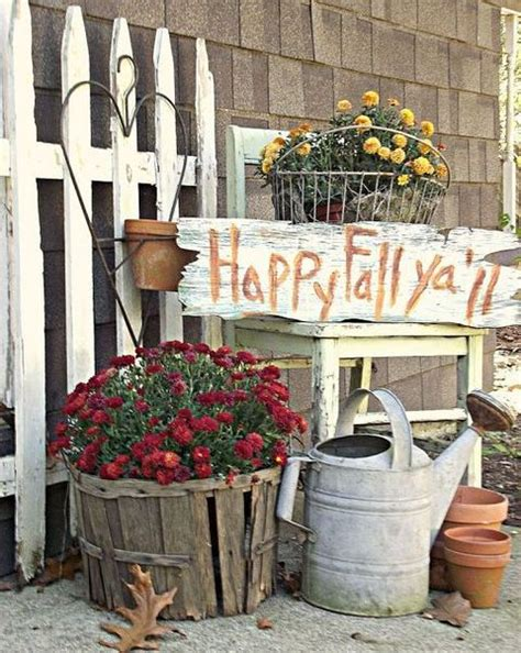 home made fall decorations amazing fall indoor and outdoor decor ideas