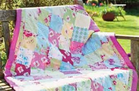 How To Make Patchwork - how to make a patchwork quilt goodtoknow