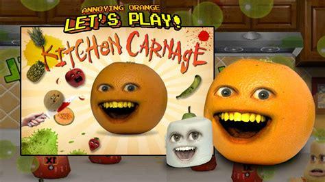 annoying orange kitchen carnage w marshmallow youtube
