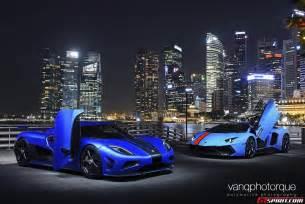 Koenigsegg Vs Lamborghini Aventador Novitec Torado Vs Koenigsegg Agera S Photoshoot Gtspirit