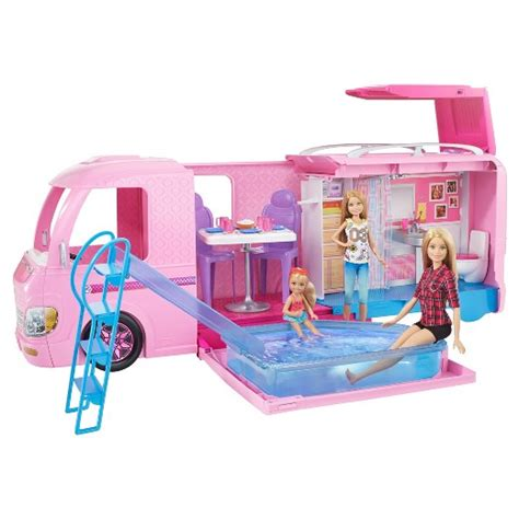 Disney Princess Bedroom Stickers Barbie 174 Dream Camper Playset Target