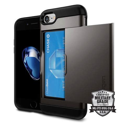 Spigen Iphone 8 Slim Armor Cs Casing Cover 100 Original spigen 174 slim armor cs 042cs20453 iphone 8 7 gunmetal spaceboy