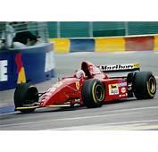 Gerhard Berger In The 1995 Ferrari 412 T2