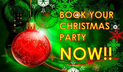 28 book your christmas party with us christmas