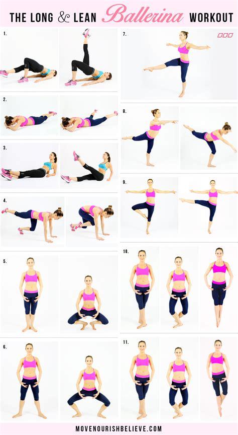 ballerina workout on ballet workouts ballet