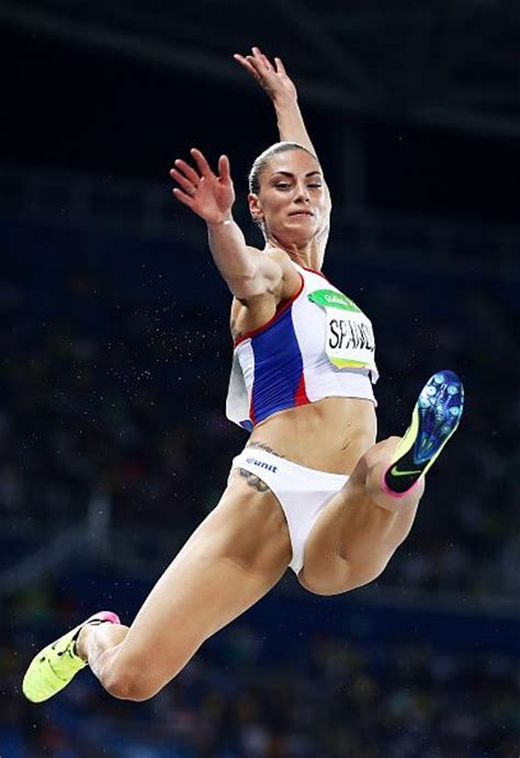 female long jump hot ivana spanovic of serbia competes in the women s long jump