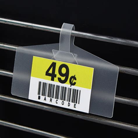 Wire Rack Label Holders by Wire Basket Plastic Label Holder Discount Shelving