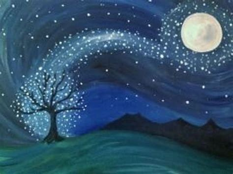 paint nite groupon manchester nh meetup events paint nite stardust painting