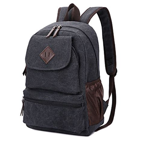 Tas Backpack Unisex Premium Rgrz 02 new unisex casual canvas backpack cool school bags 5325597 2017 26 99