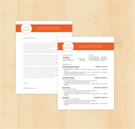 letter template design formal letter template