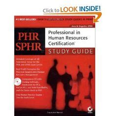 phr sphr professional in human resources certification study guide business 106 human resource management course free