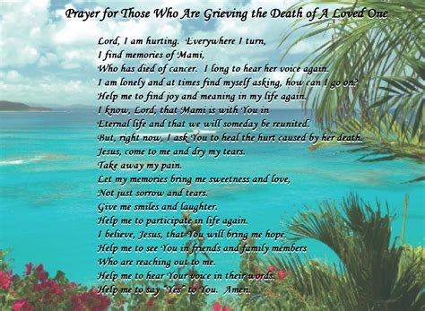prayer for comfort in loss prayer for loss of loved one quotes quotesgram