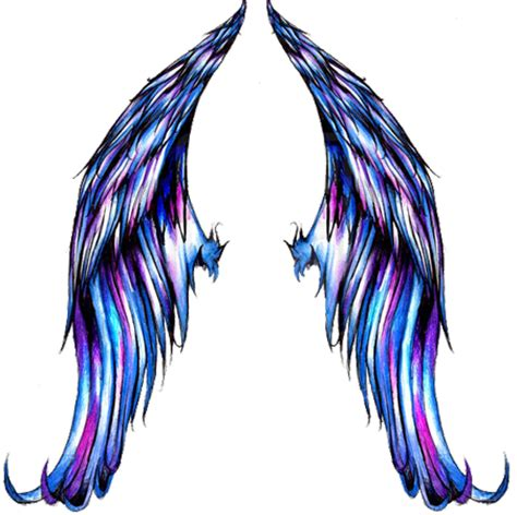 tattoo wings png simple wing tattoos clipart best
