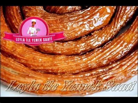 Halka Tatlisi Tarifi Leyla Ile | halka tatlisi tarifi leyla ile yemek saati youtube