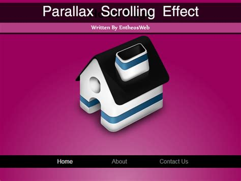 parallax website tutorial jquery css css parallax scrolling effect with css jquery tutorial