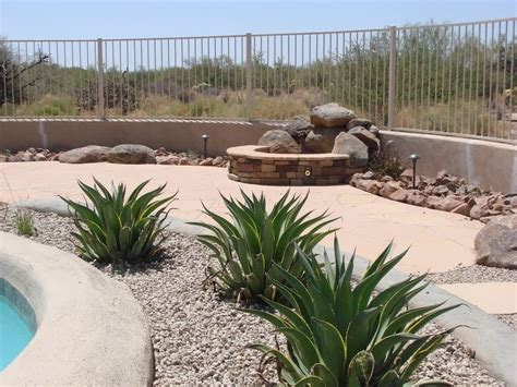 pics of backyard landscaping special desert landscaping ideas at home bistrodre porch