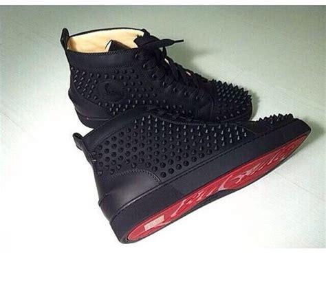 christian louboutin bottoms sneakers