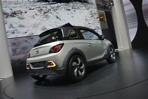 opel adam rocks opel adam rocks geneva 2013 video live photos