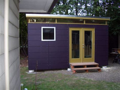 Modern Prefab Shed Kits by Prefabricated Shed Kit Modern Shed Kit 12 X 16