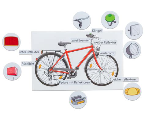 Beschriftung Verkehrssicheres Fahrrad by Das Verkehrssichere Fahrrad Betzold De