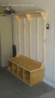 mudroom bench ideas a bushel n a peck faux tree