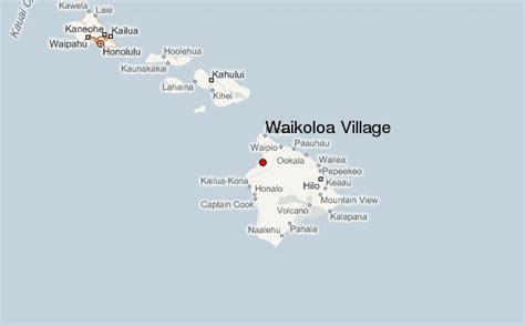 waikoloa resort map hawaii waikoloa location guide