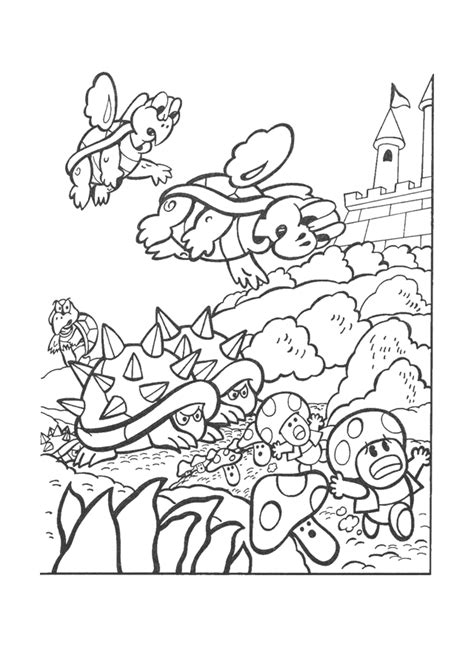 coloring pages nintendo characters nintendo characters coloring pages