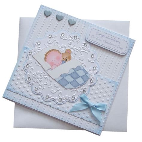 Christening Cards Handmade - 57 best images about christening cards on