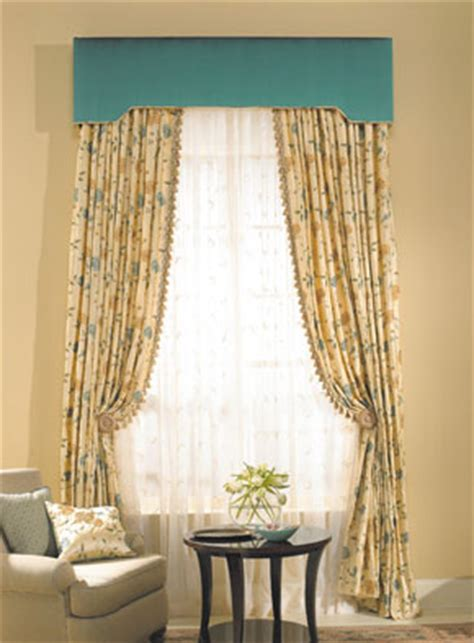 Upholstered Cornice Window Treatments Upholstered Cornices