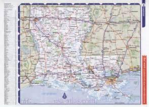 Louisiana Road Map by Louisiana Road Map Bing Images