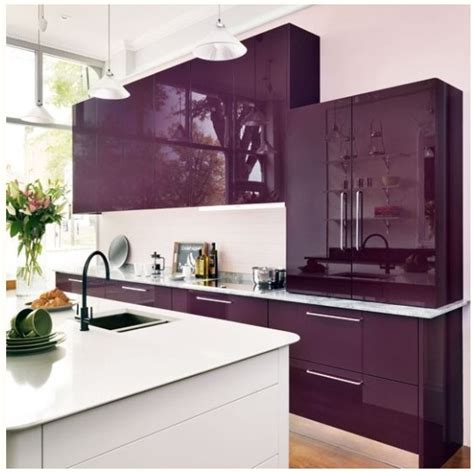 purple kitchen ideas purple kitchen cabinets kitchen ideas pinterest kitchen colors cabinets and modern kitchens