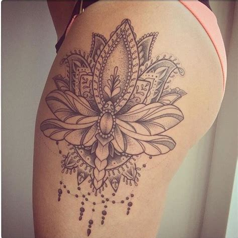 mandala tattoo uk the 25 best ideas about mandala thigh tattoo on pinterest