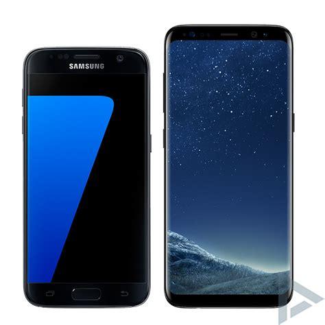 Samsung S7 Dan S8 wat zijn de verschillen tussen de galaxy s7 edge en galaxy s8 plus