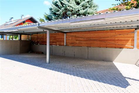 carport stahl carport stahl verzinkt metallbau gruner