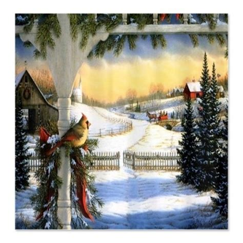 country christmas shower curtain country christmas shower curtain designcorner