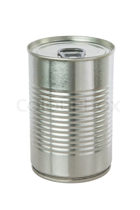 Can I Get A Copy Of My Background Check Aluminum Tin Can On A White Background Stock Photo Colourbox