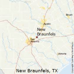 where is new braunfels map best places to live in new braunfels