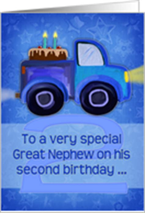 Nephew 2nd Birthday Card Family Birthday Cards For Grandnephew From Greeting Card