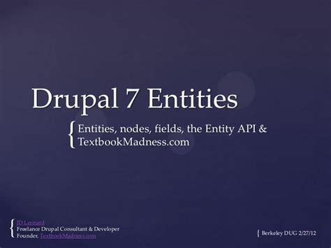 drupal theme entity drupal 7 entities textbookmadness com