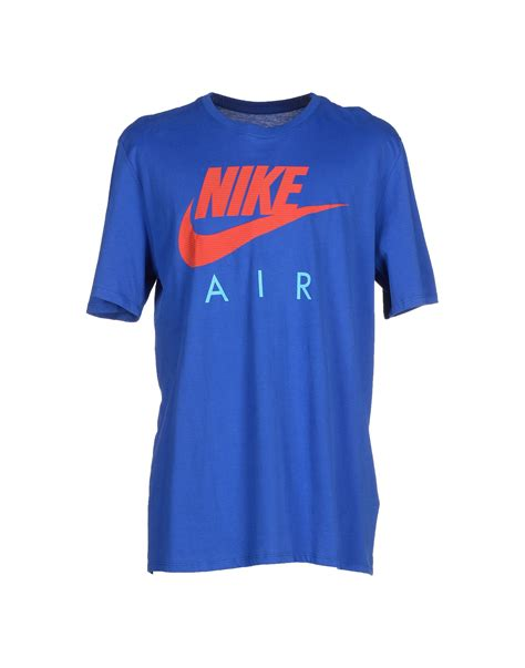 T Shirt 6 0 Nike Blue lyst nike t shirt in blue for