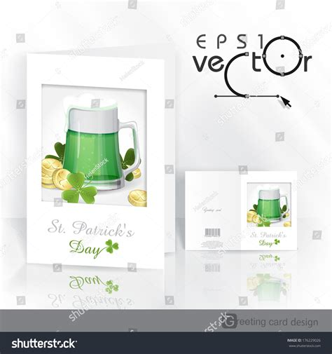 images st day green for templates tents cards mug green st patricks day stock vector 176229026