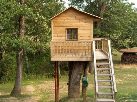 Treehouse Plans And Playhouse Plans Build It Yourself
